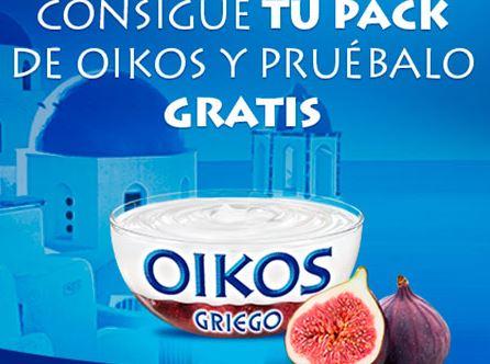 Yogurt Oikos gratis